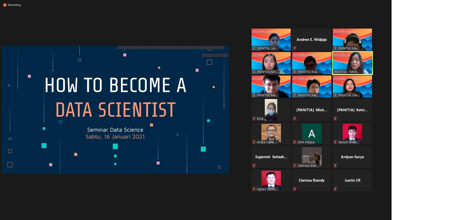 Webinar Data Scientist