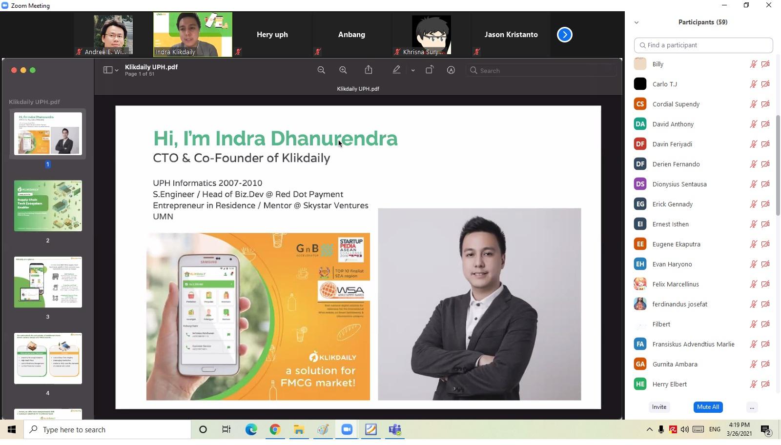 Webinar SIC Entrepreneurship