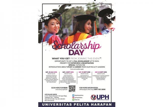 Scholarship Day 2018 - Manajemen Perhotelan, Industri Travel, Manajemen & Akuntansi