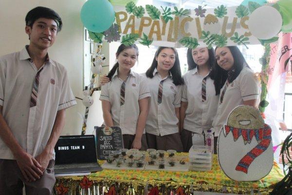 Siswa SMA Berinovasi Membuat Makanan Berbahan Dasar Leunca dan Daun Pepaya dalam Food Explore 11