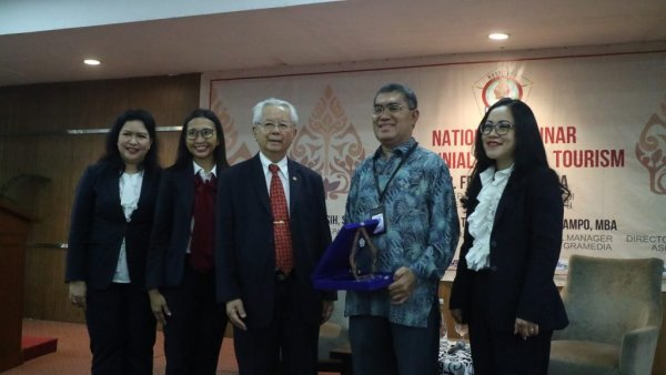 UPH Faculty of Tourism Invites Milennials to Promote Tourism Sector
