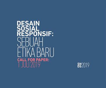 Seminar Nasional Desain Sosial 2019 (Call for Papers)