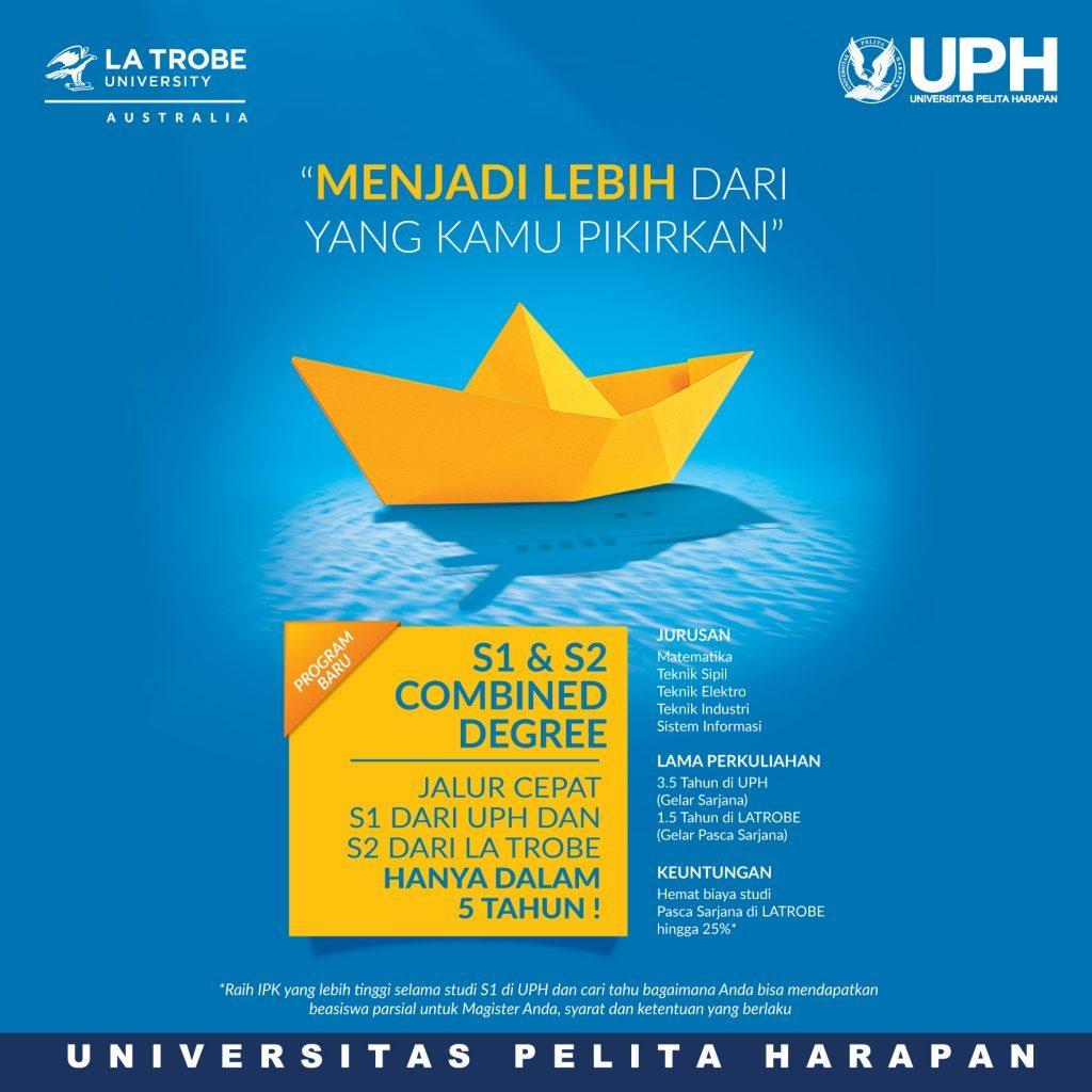 UPH Launches New Program: UPH - La Trobe University (Australia) Combined Bachelor's & Master's Degree