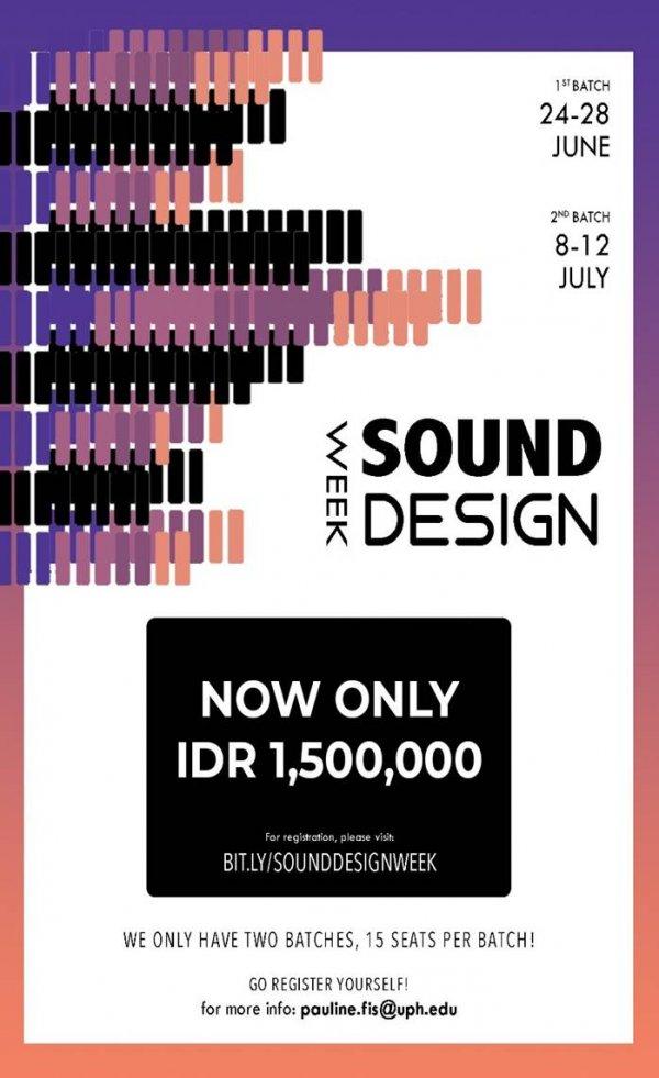 Sound Design Week 2019