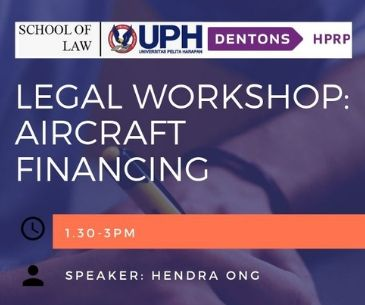 Legal Workshop: Aircraft Financing
