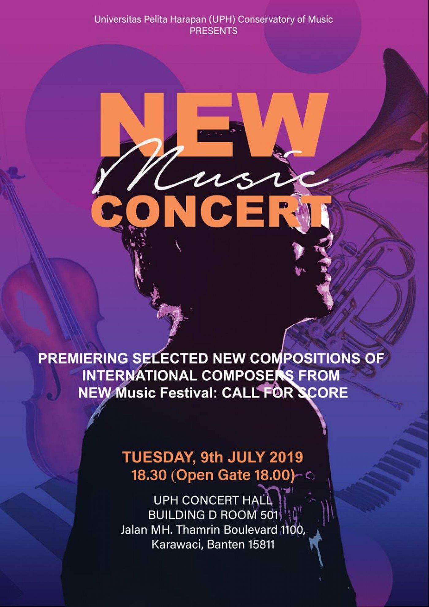NEW MUSIC CONCERT - UPH   Universitas Pelita Harapan - UPH