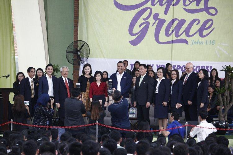 Menko Maritim Luhut B. Panjaitan dan Ketua PSI Grace Natalie Ajak Generasi Muda Berkontribusi Bagi Indonesia di Acara UPH Festival 2019