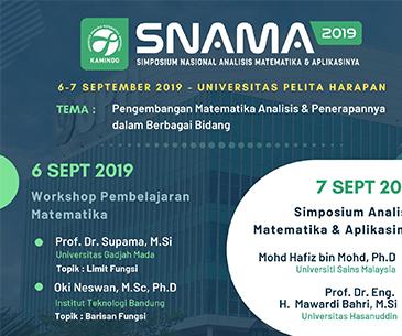 SNAMA  (Simposium Nasional Analisis Matematika dan Aplikasinya)