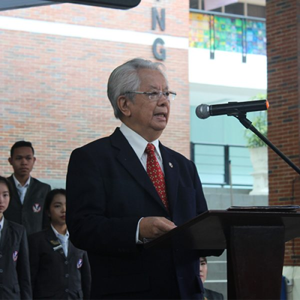 Rector of UPH's Message: Together Build Indonesia at the 74th Independence Day