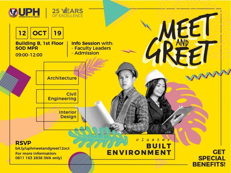 Meet and Greet: Cluster Built Environment