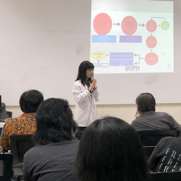 Meet and Greet Health Science Ajak Calon Mahasiswa Kenali Uniknya FK UPH
