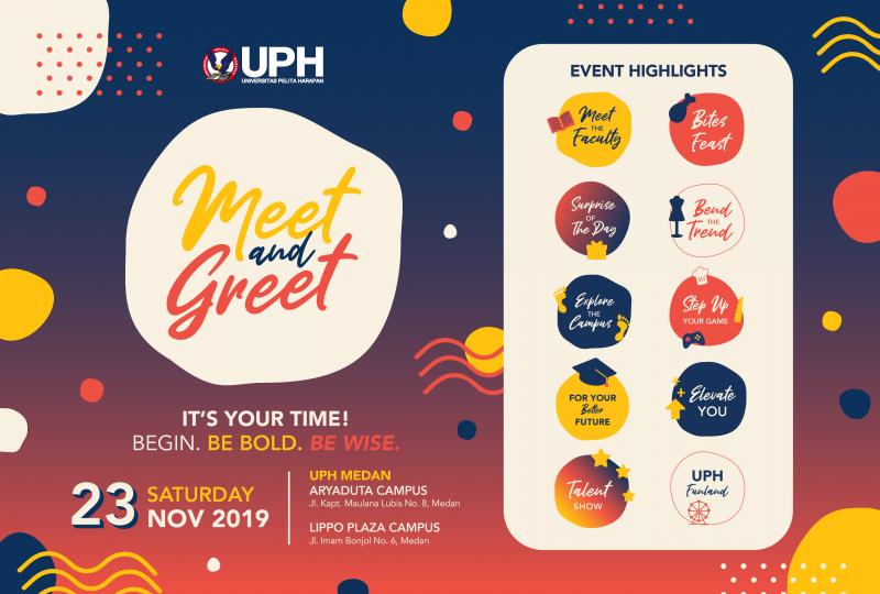 UPH Meets you in Medan