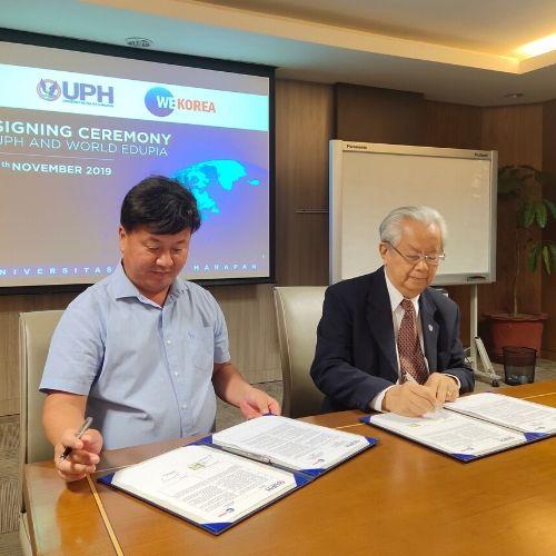 UPH Gandeng World Edupia Buka Kelas Intensif Bahasa Korea, Percepat Masa Kuliah di Korea Selatan