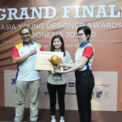 Mahasiswa Desain Interior UPH Raih Gold Winner Asia Young Designer Award 2020