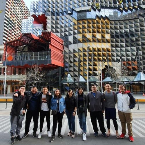 UPH Architecture Held a Sharing Session for Korean Student Exchange Participants