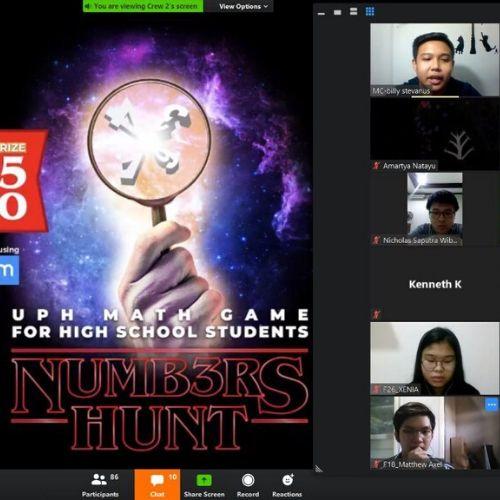 Numb3rs Hunt, Cara Seru UPH Kenalkan Prodi Matematika Aktuaria dan Terapan