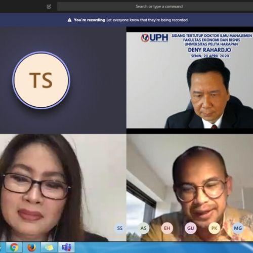 Program Doctoral of Research in Management UPH: Pilihan Para Senior Eksekutif Perusahaan Terkemuka