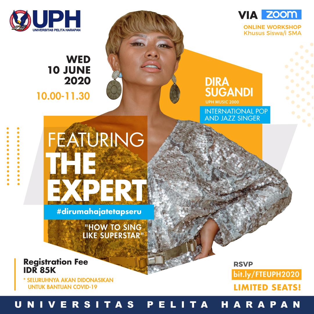Featuring the Expert: Dira Sugandi