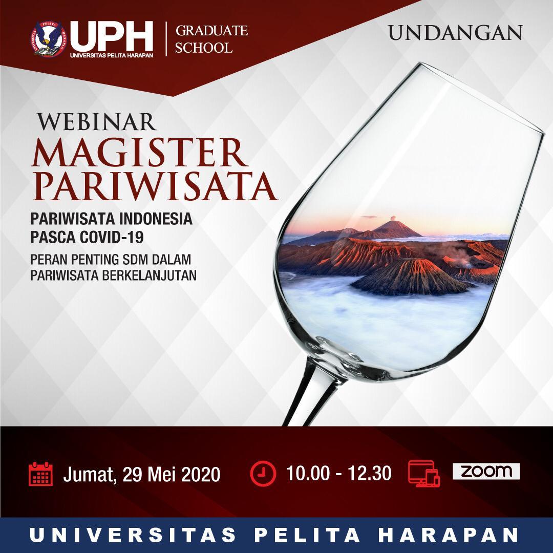 Webinar: Pariwisata Indonesia Pasca COVID-19
