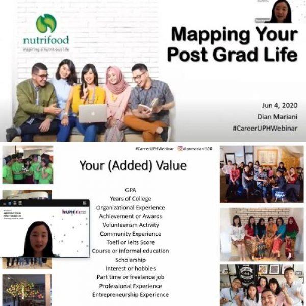 Career Center UPH dan Nutrifood bahas Langkah Praktis Tentukan Karier Impian