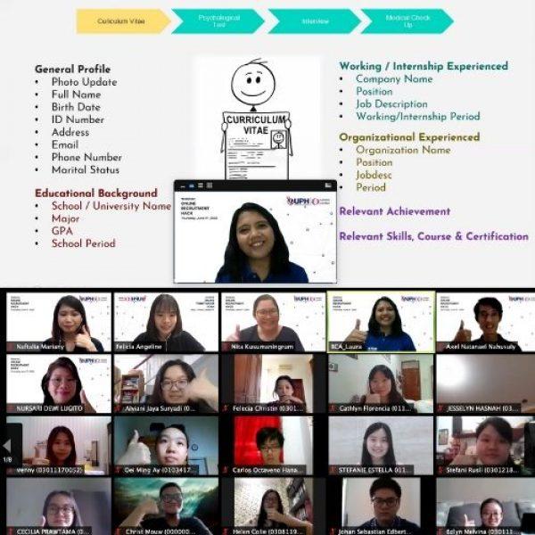 Career Center UPH Bagikan Tips Persiapan Menghadapi 'Online Recruitment'