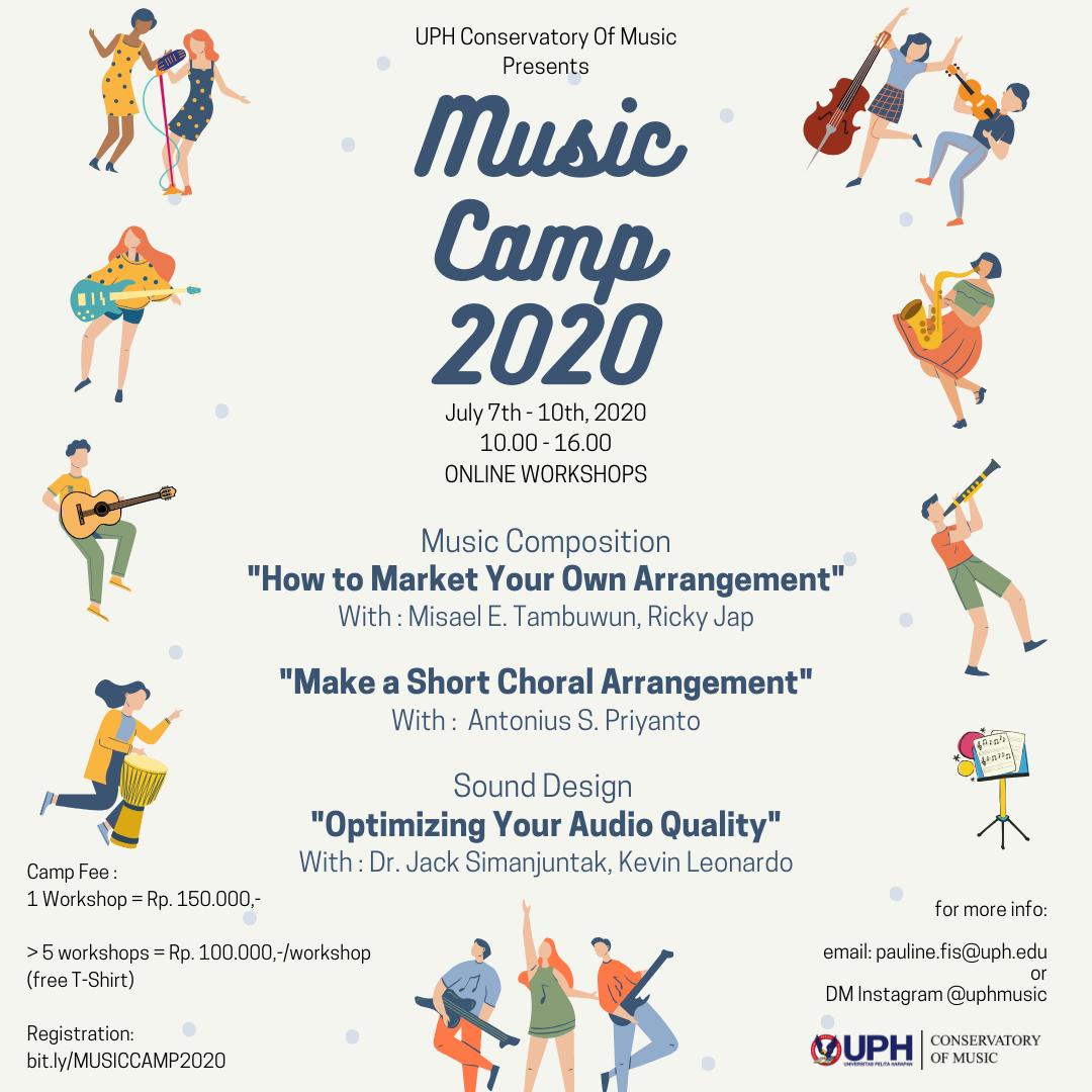 Music Camp 2020: Music Composition & Sound Design