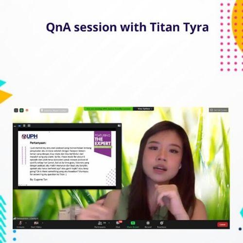 Ilkom UPH dan Titan Tyra Bagikan Kiat Jadi Content Creator Handal