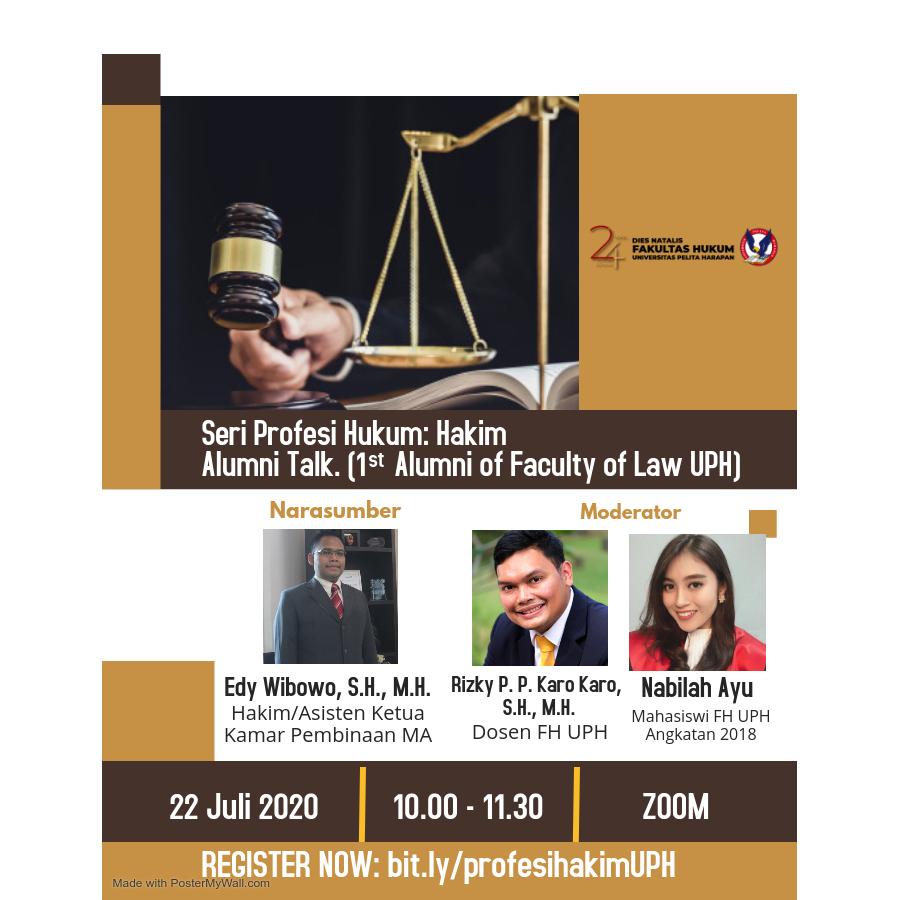 Seri Profesi Hukum: Hakim