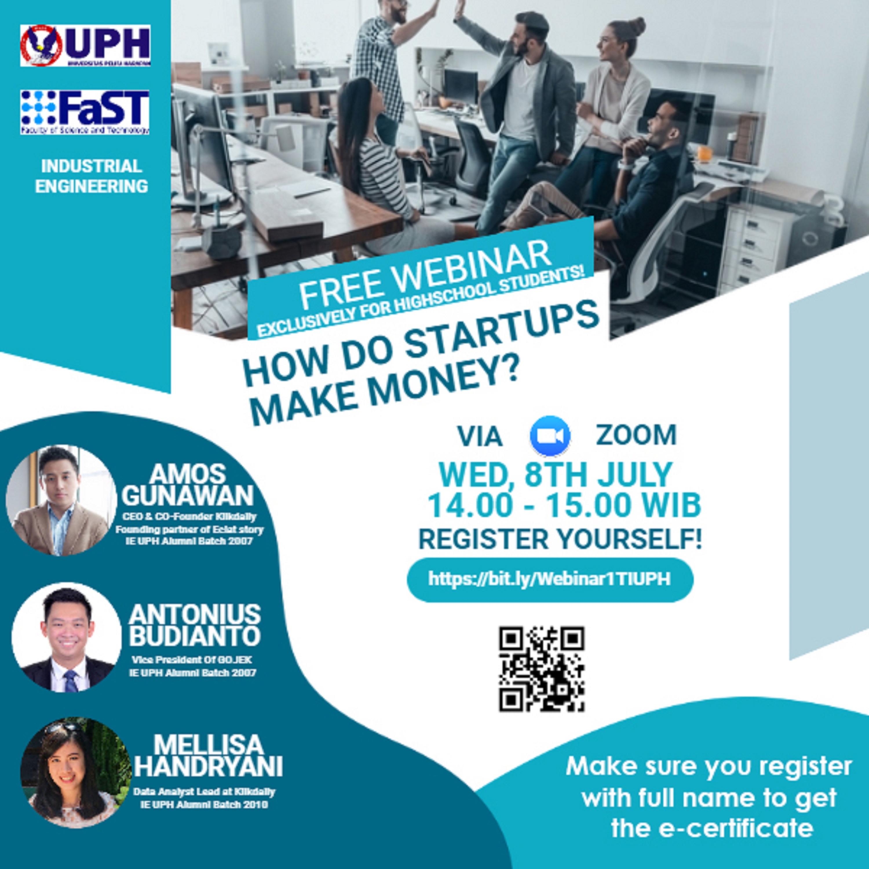 Free Webinar: How Do Startups Make Money?