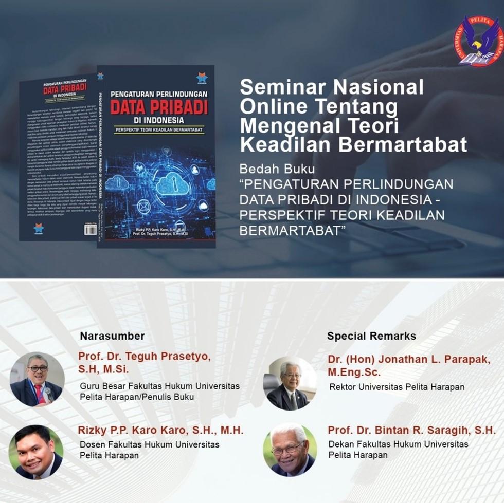 Seminar Nasional: Mengenal Teori Keadilan Bermartabat