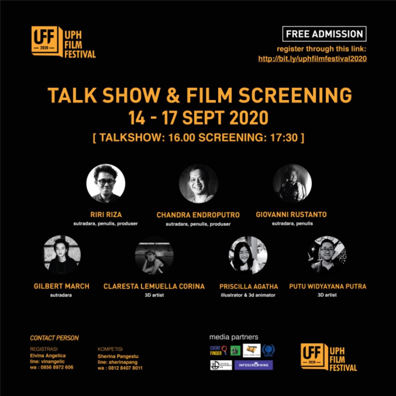 UPH Film Festival 2020: Talk Show & Film Screening