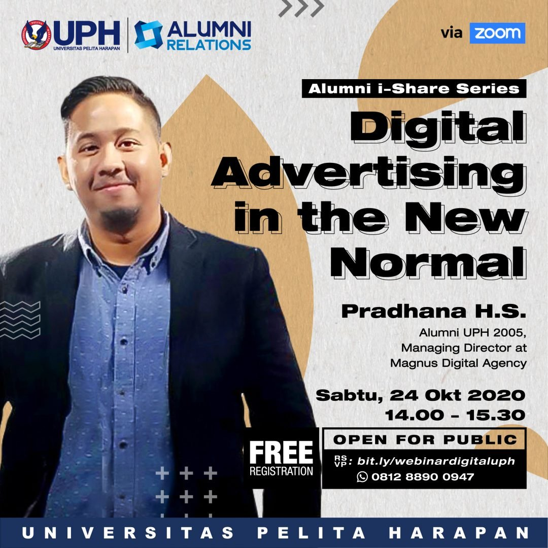 Webinar Alumni i-Share Series: Digital Advertising in the New Normal