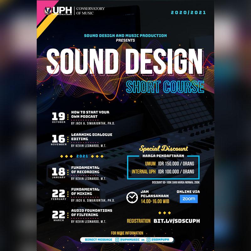 Sound Design Short Course Series