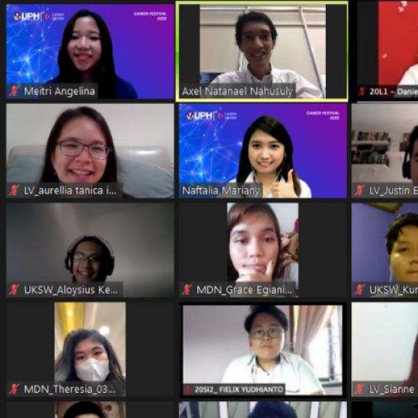 Ingin Sukses Interview Kerja? Simak 3 Tips dari UPH Career Festival 2020