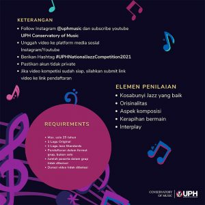 UPH National Jazz Competition
