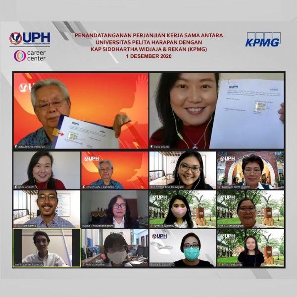 """KPMG, Satu dari """"The Big Four"""" KAP Resmi Bekerja Sama dengan UPH"""