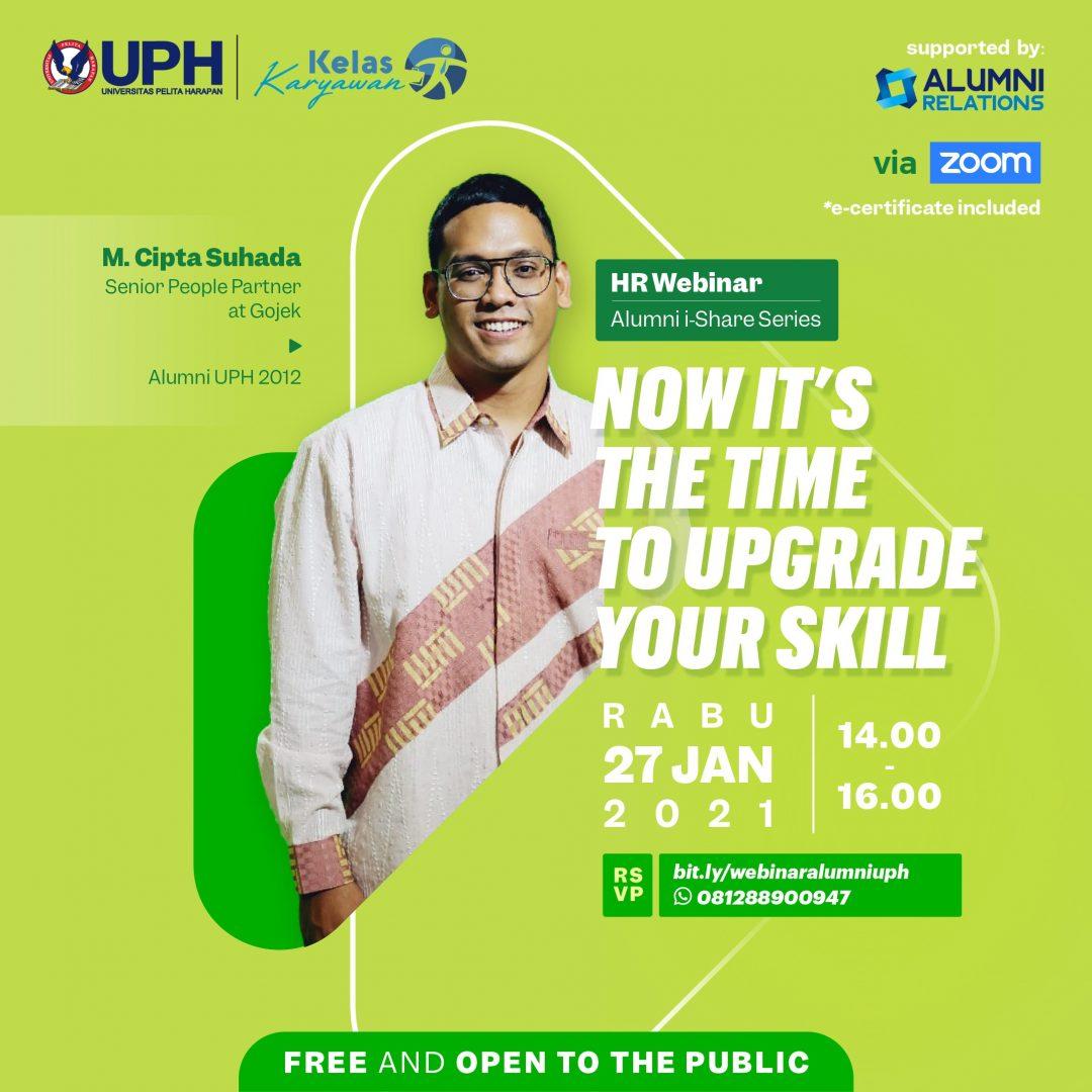 Alumni i-Share Series x Kelas Karyawan: Now It's The Time To Upgrade Your Skill