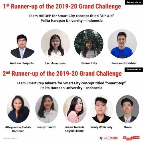 UPH mewakili Indonesia Raih Juara Technology Infusion 2020, La Trobe University-Australia