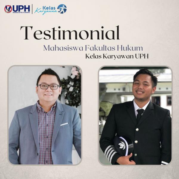 Ini Alasan Para Profesional Pilih Kelas Karyawan Fakultas Hukum UPH