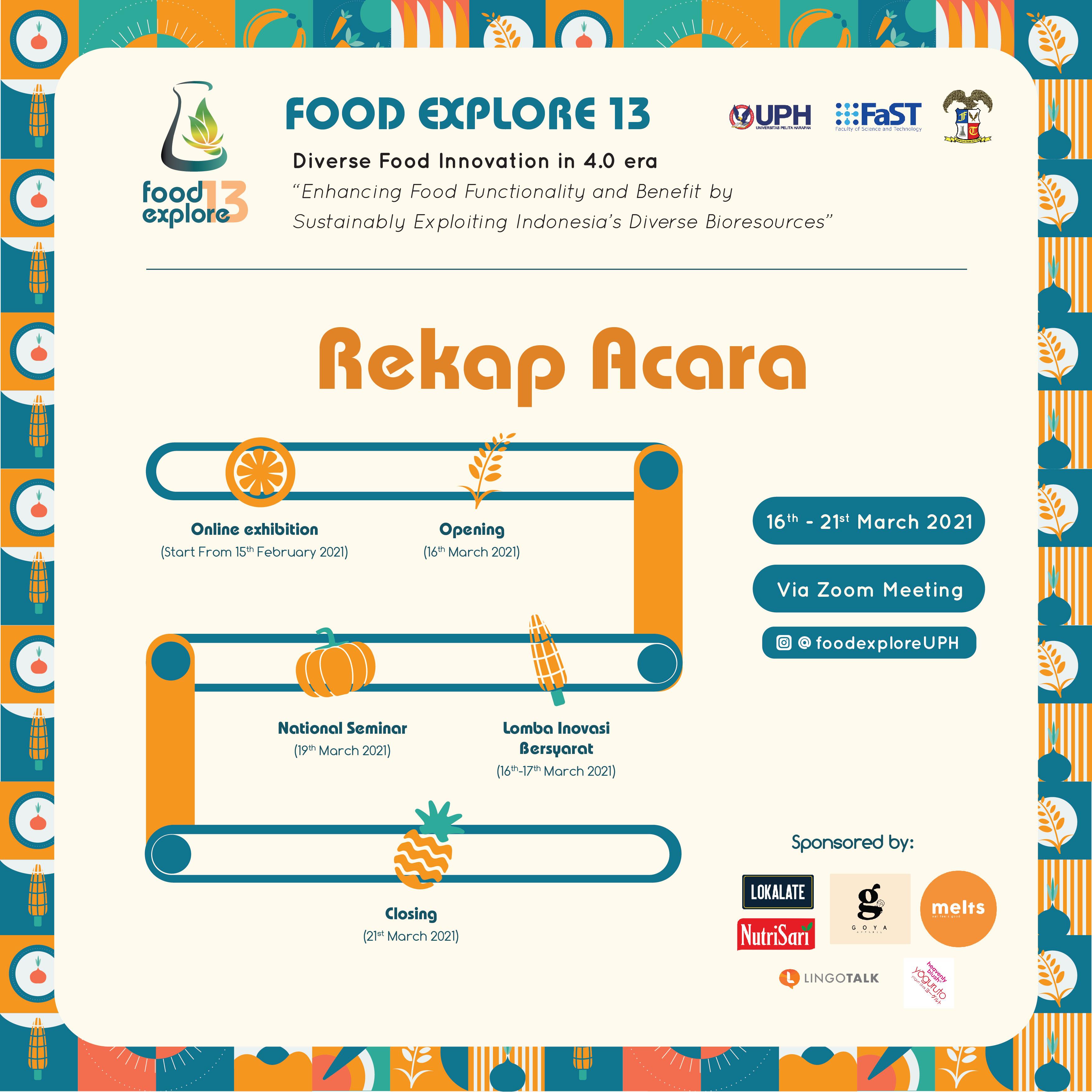 Food Explore 13