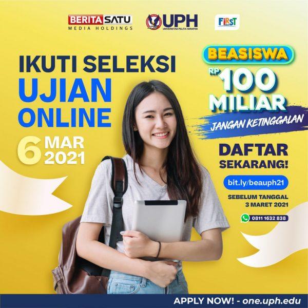 Seleksi Ujian Online UPH