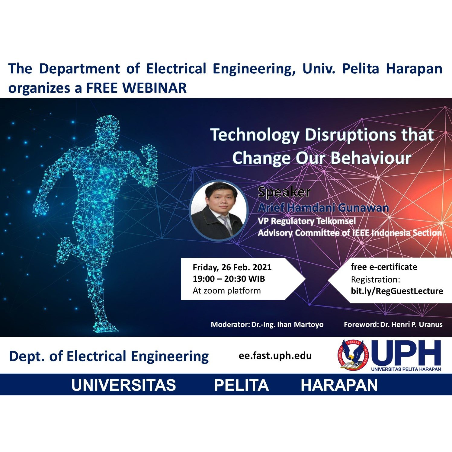 Webinar: Technology Disruptions that Change Our Behavior