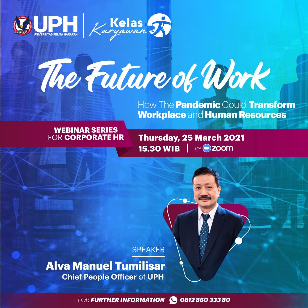 Webinar Kelas Karyawan: The Future of Work