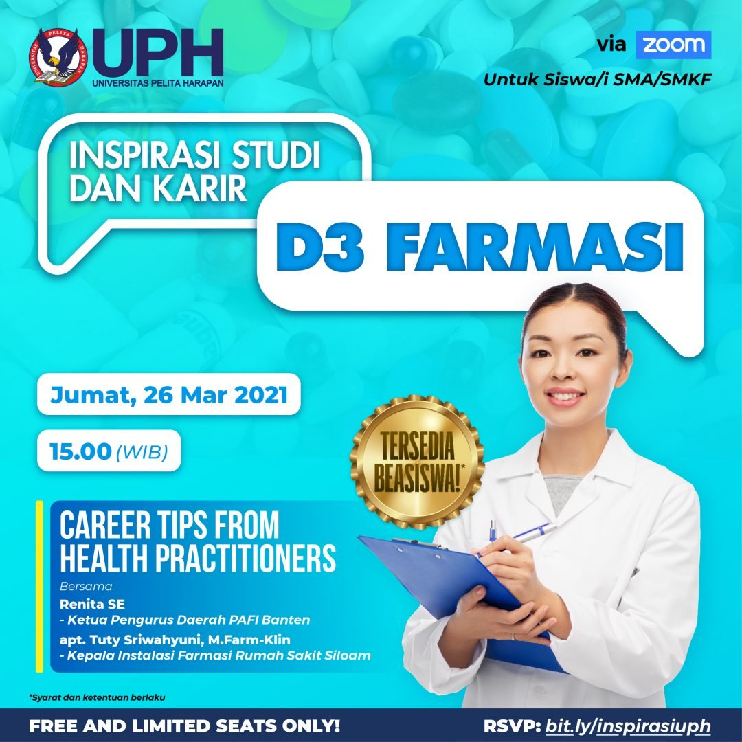 D3 Farmasi (Inspirasi Studi dan Karir)