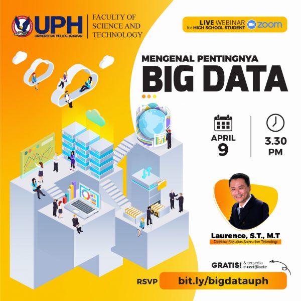 Webinar: Mengenal Pentingnya Big Data