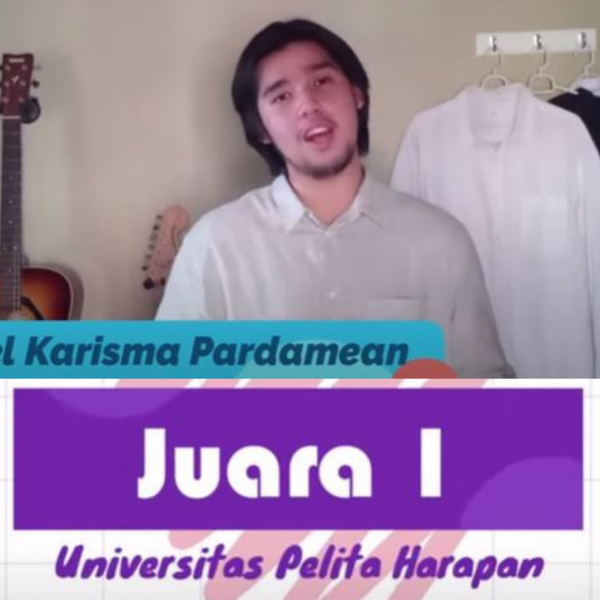 Juara 1 Menyanyi Pop, Otniel Sukses Banggakan UPH di Peksiminas Kemendikbud 2020