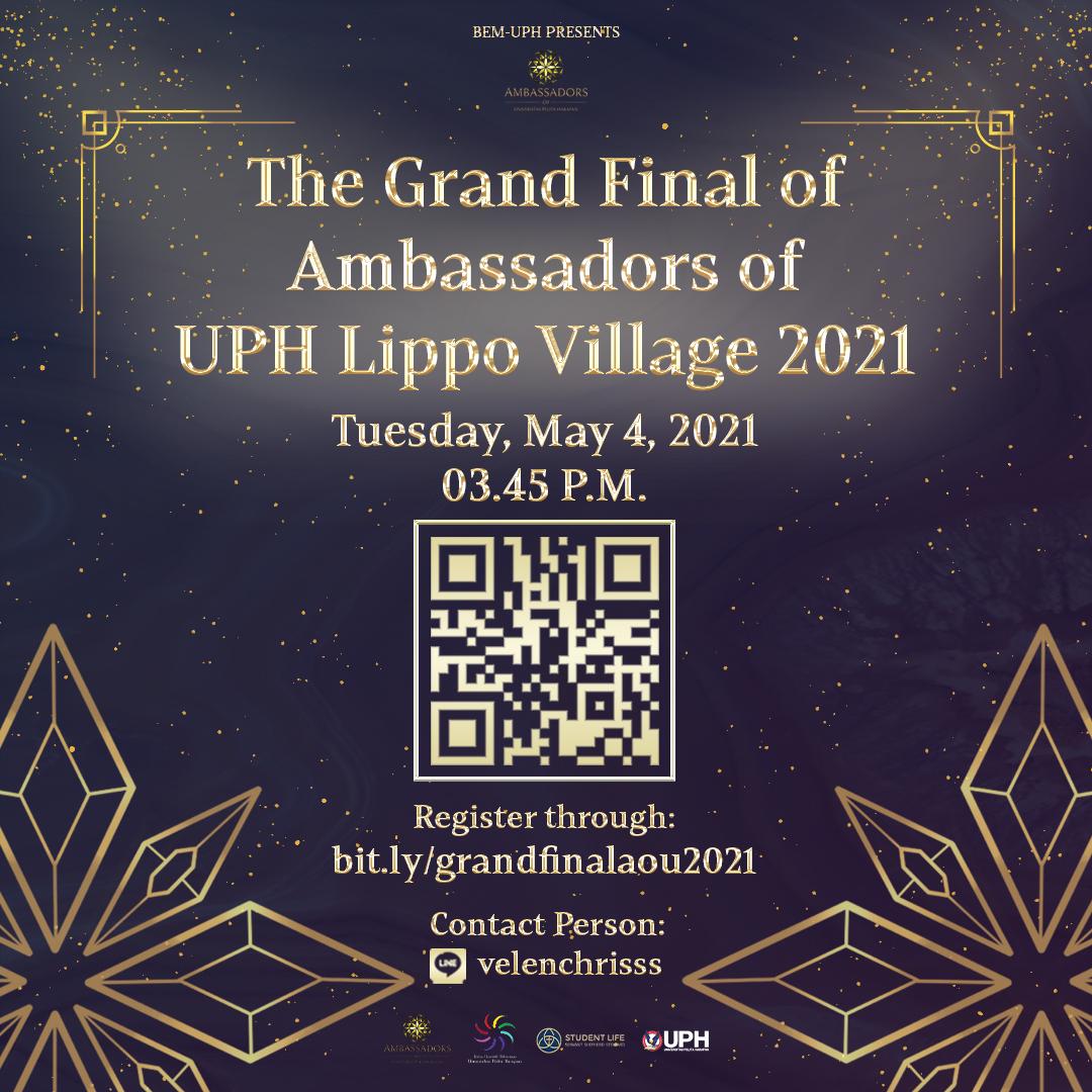 The Grand Final of Ambassadors of UPH Lippo Village 2021