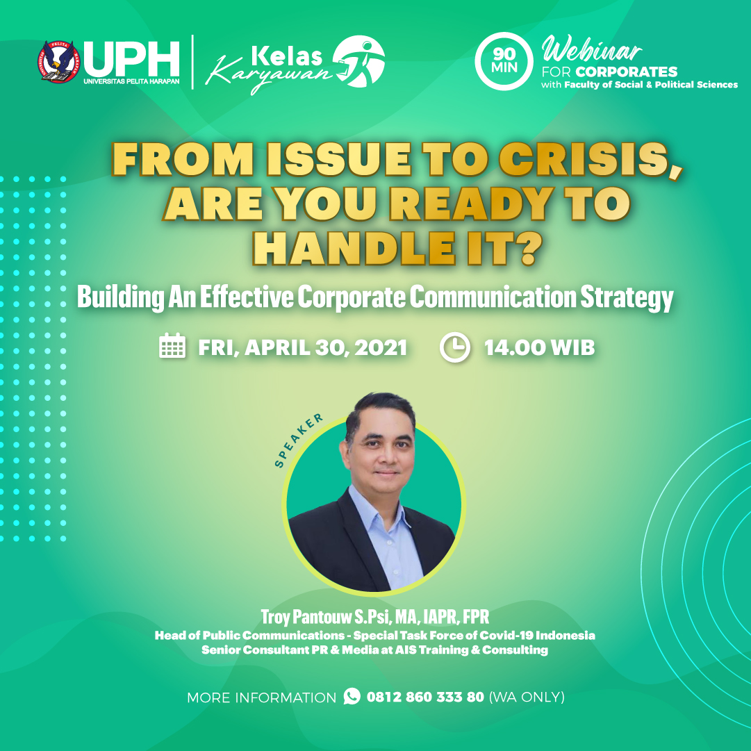 From Issue to Crisis, Are You Ready to Handle It?