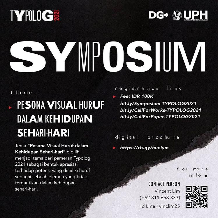 Typolog 2021: Symposium