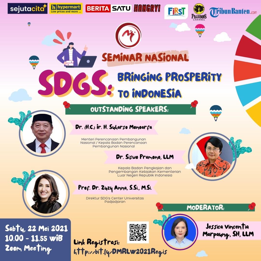 Seminar Nasional: Bringing Prosperity to Indonesia